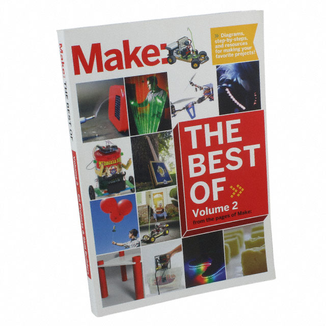 Книги, медиа BEST OF MAKE: VOLUME 2 Фото 1.